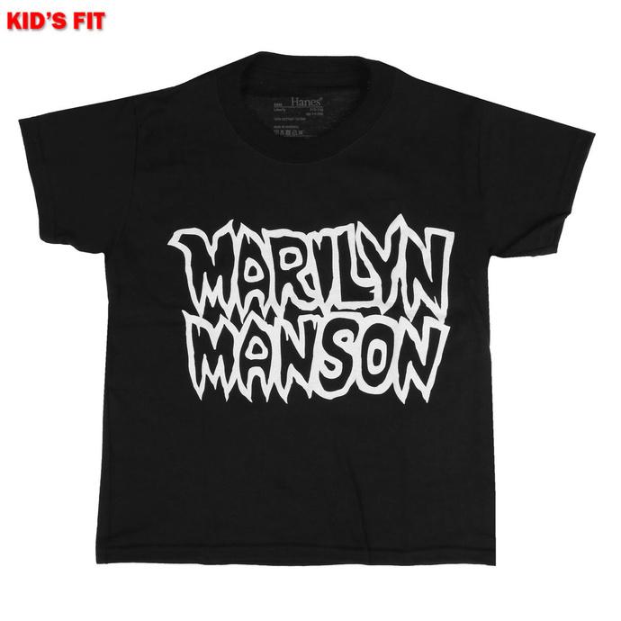 tričko dětské Marilyn Manson - Classic Logo - ROCK OFF