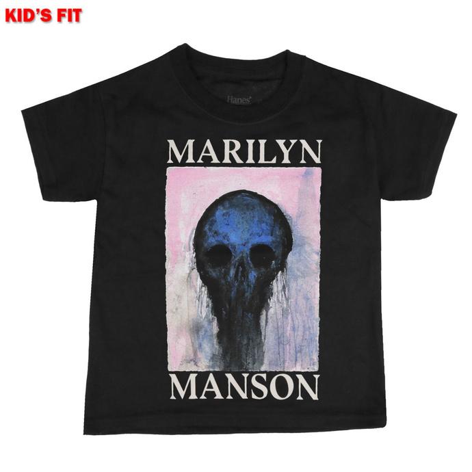 tričko dětské Marilyn Manson - Halloween Painted Hollywood - ROCK OFF