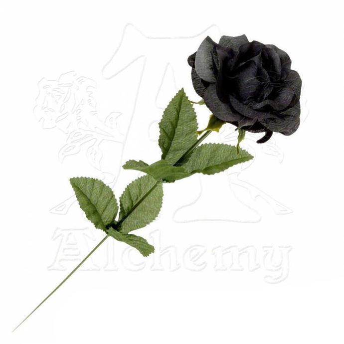 černá růže Black Imitation Rose - Alchemy Gothic