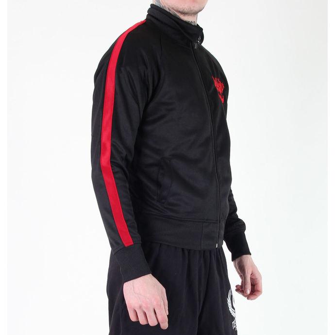 mikina pánská Rancid - Scrawl Skull - Black/Red - RAGEWEAR