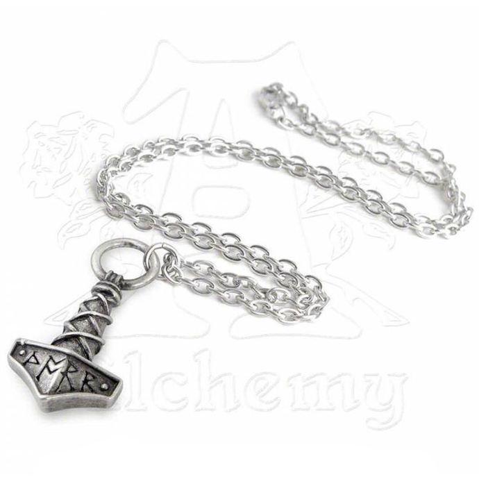 obojek Thors Hammer Amulet  - ALCHEMY GOTHIC