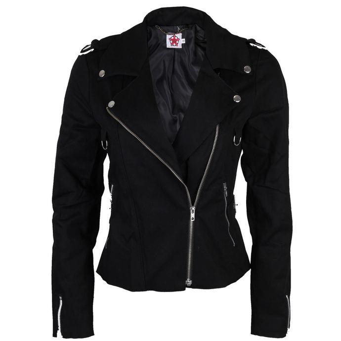 bunda dámská BLACK PISTOL - Biker - Black