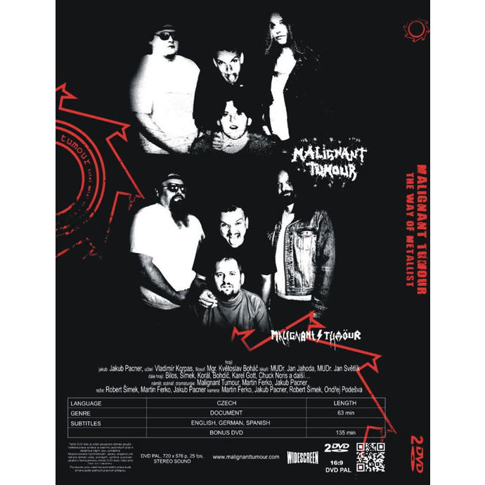 DVD Malignant Tumour - The Way Of Metallist