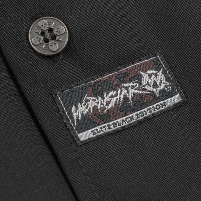 košile pánská WORNSTAR - Chicago Skull - Black