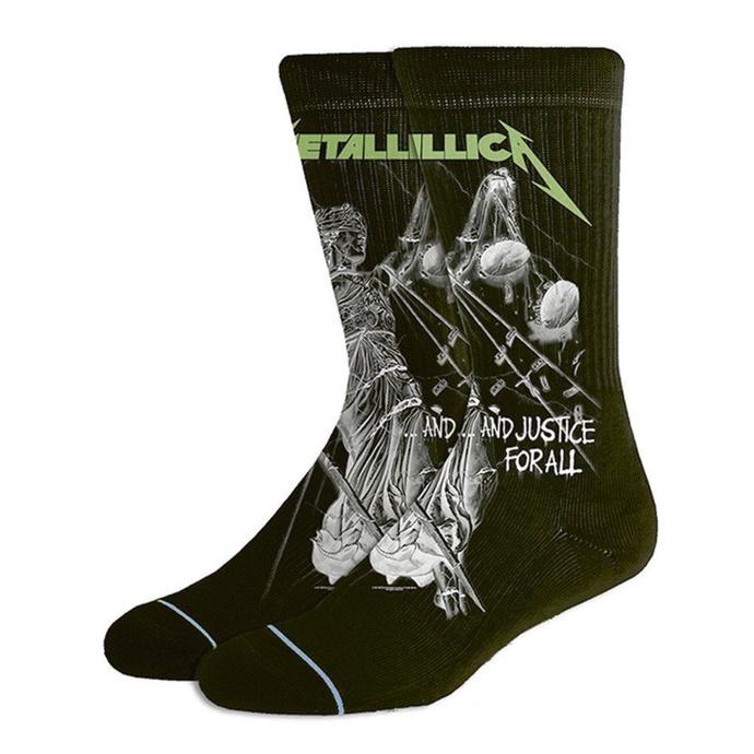 ponožky Metallica - AJFA Black
