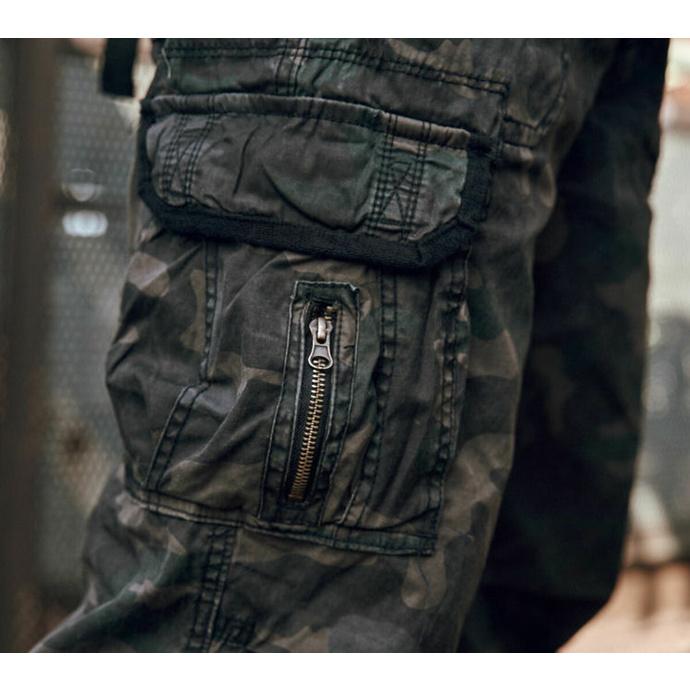 kalhoty pánské BRANDIT - Royal Vintage Trouser Darkcamo
