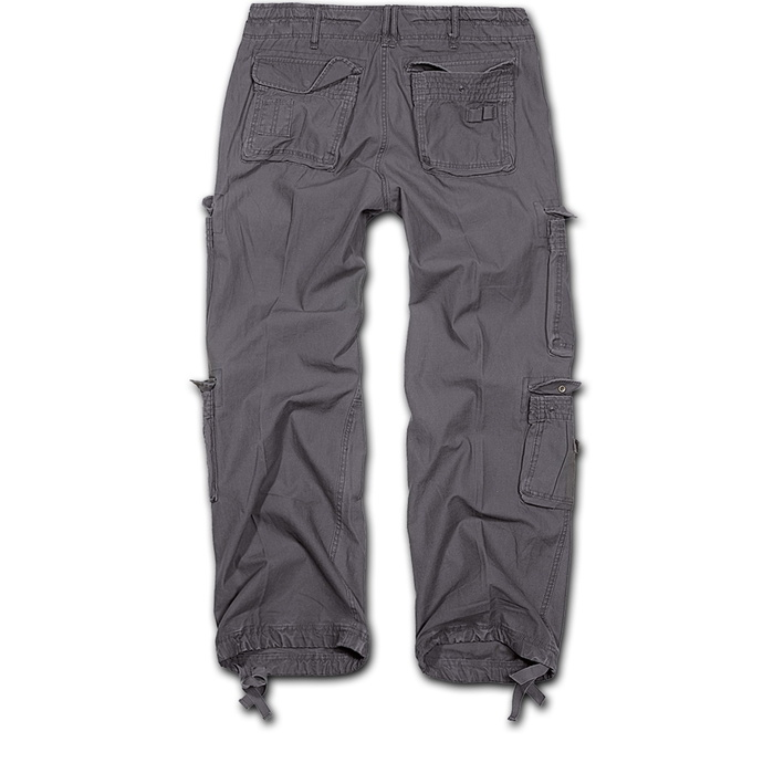 kalhoty pánské BRANDIT - Pure Vintage Trouser Anthracite