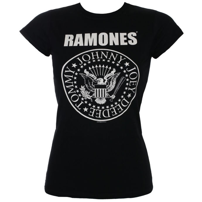 tričko dámské Ramones - Seal Skinny - ROCK OFF