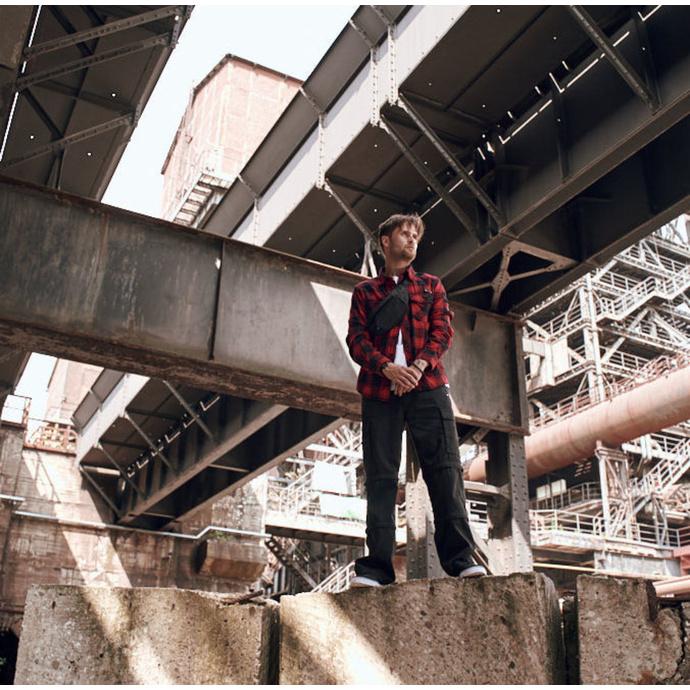 kalhoty pánské BRANDIT - Savannah Trouser - Black