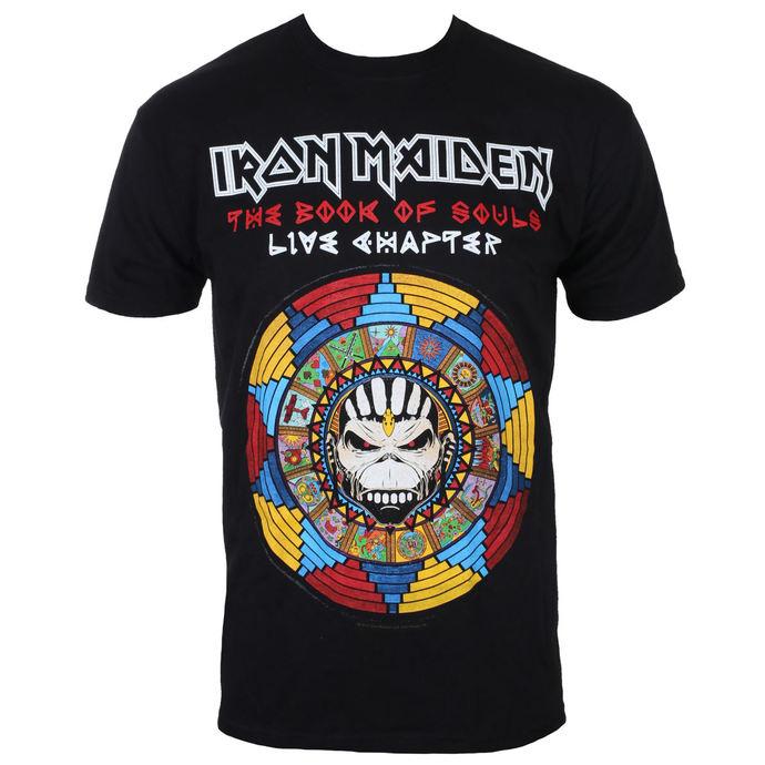 tričko pánské Iron Maiden - BOS Live -  Black - ROCK OFF