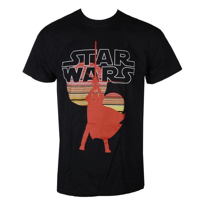 tričko pánské STAR WARS - RETRO SUNS - BLACK - LIVE NATION
