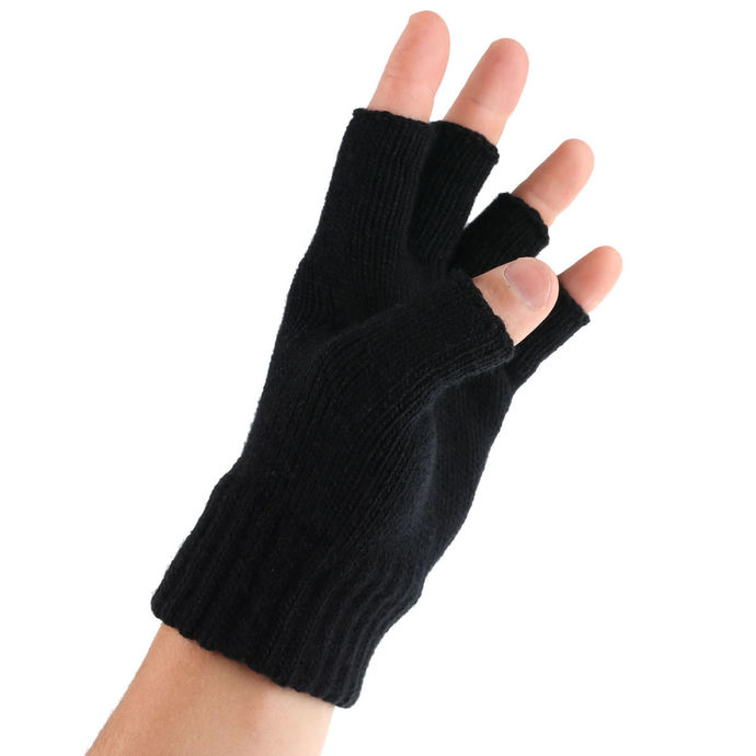 rukavice bezprsté Motörhead - LEMMY - LOGO & IRON CROSS - RAZAMATAZ