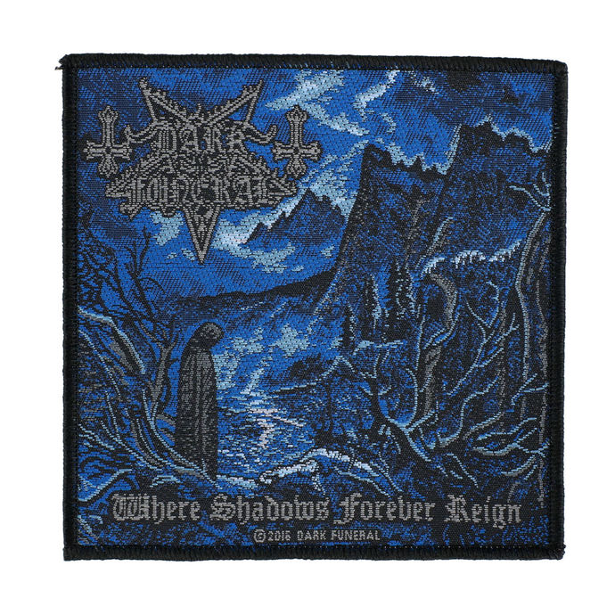 nášivka DARK FUNERAL - WHERE SHADOWS FOREVER REIGN - RAZAMATAZ