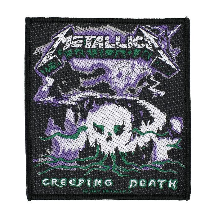 nášivka METALLICA - CREEPING DEATH - RAZAMATAZ