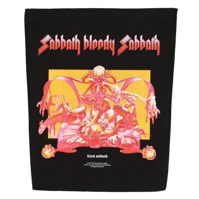 nášivka velká BLACK SABBATH - SABBATH BLOODY SABBATH - RAZAMATAZ