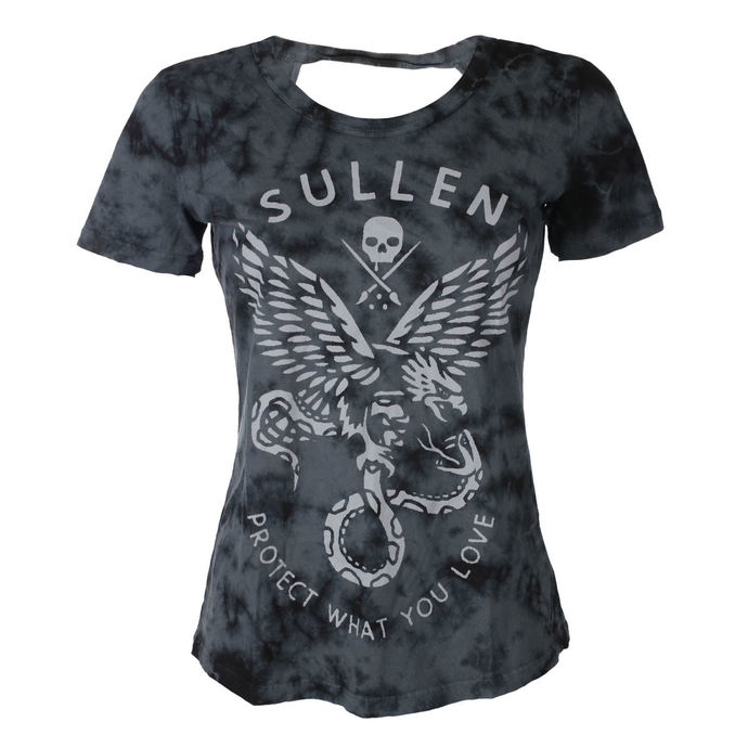 tričko dámské SULLEN - ENGAGE - BLACK