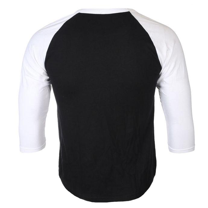 tričko pánské s 3/4 rukávem DEEP PURPLE - LOGO - PLASTIC HEAD