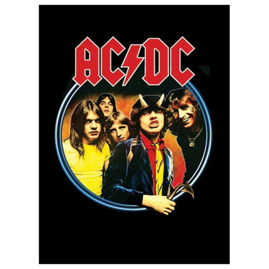 obraz AC/DC - Group - PYRAMID POSTERS