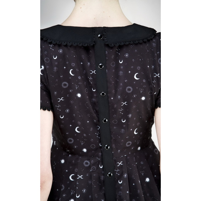 šaty dámské DISTURBIA - Kosmos Collared