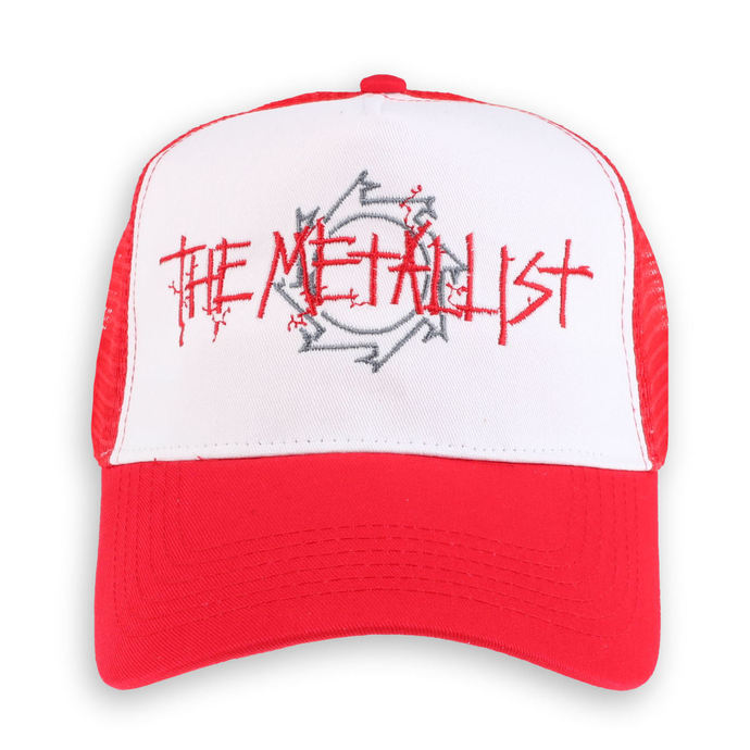 kšiltovka Malignant Tumour - The Metallist - Red/White