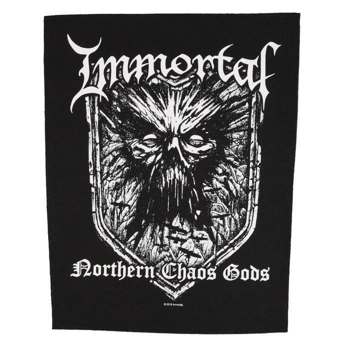 nášivka velká Immortal - Northern Chaos Gods - RAZAMATAZ