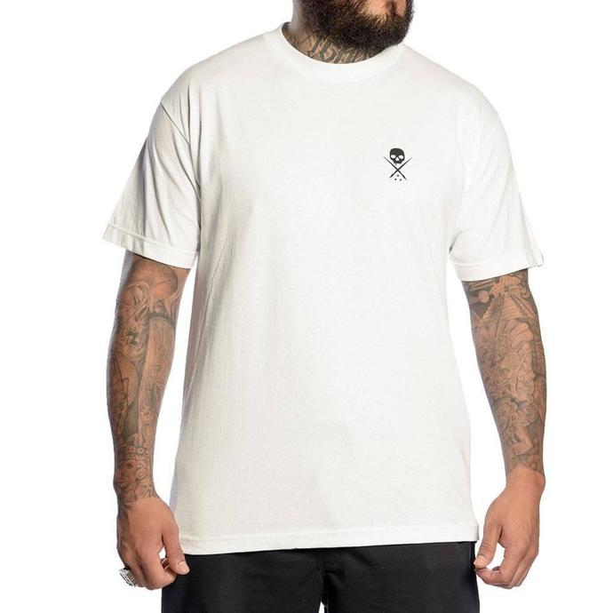 tričko pánské SULLEN - STANDARD ISSUE - WHITE/BLACK