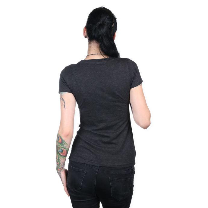 tričko dámské METAL MULISHA - HELMET SCOOP - BLK
