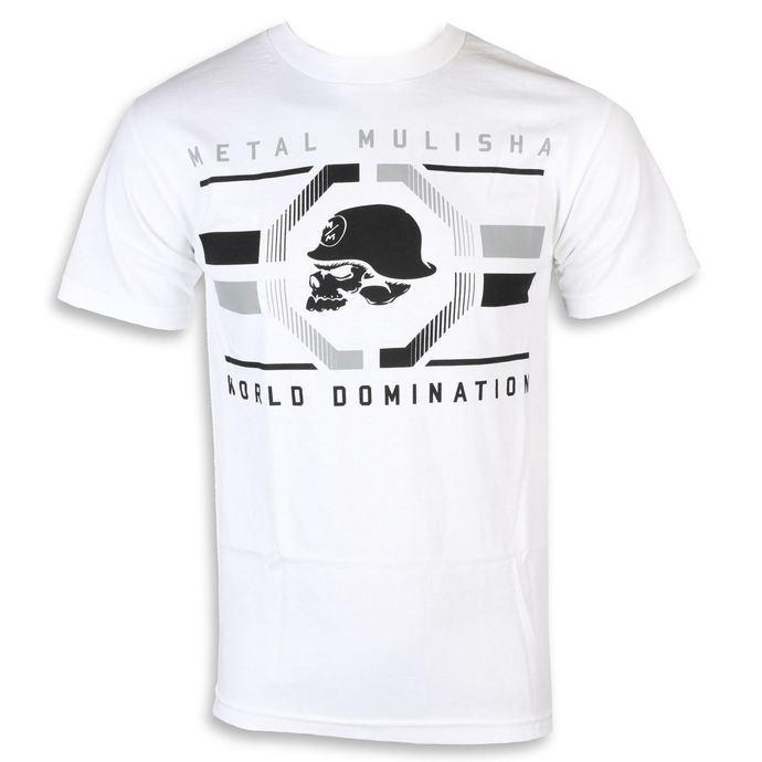 tričko pánské METAL MULISHA - OCTAGON WHT, METAL MULISHA