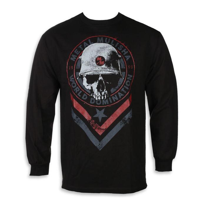tričko pánské s dlouhým rukávem METAL MULISHA - SEAL BLK, METAL MULISHA