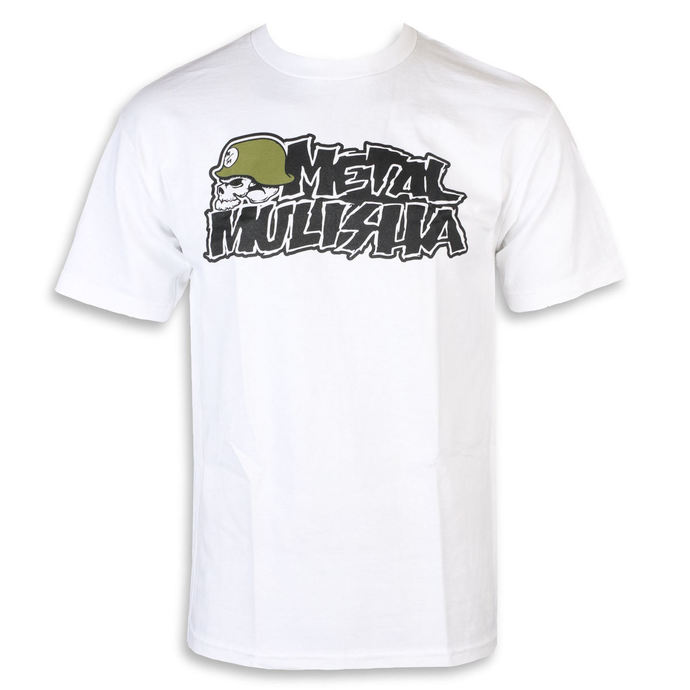 tričko pánské METAL MULISHA - IKON WHT, METAL MULISHA