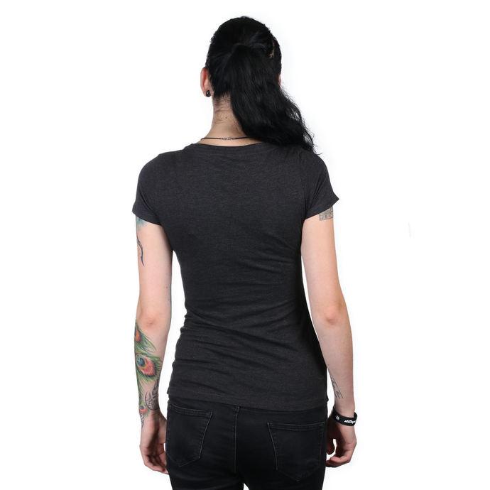 tričko dámské METAL MULISHA - IKON SCOOP BLK, METAL MULISHA