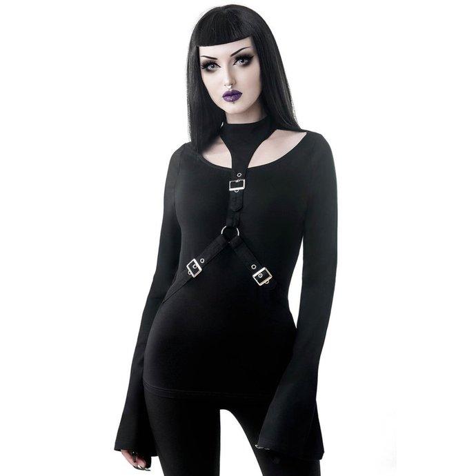 tričko dámské s dlouhým rukávem KILLSTAR - Crop