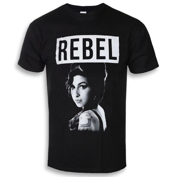 tričko pánské Amy Winehouse - Rebel - ROCK OFF