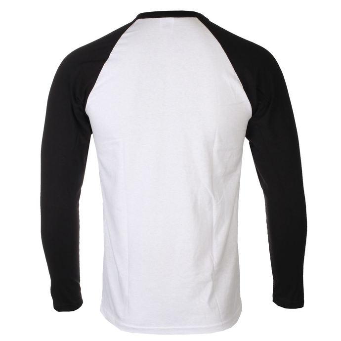 tričko pánské s dlouhým rukávem Rocky Balboa - Italian Stallion - White/Black - HYBRIS