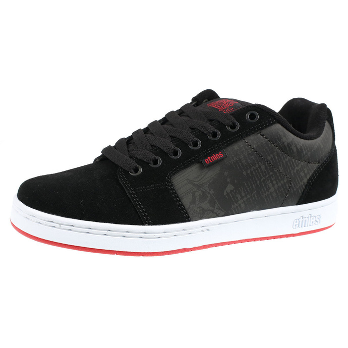 boty ETNIES - Metal Mulisha - Barge XL - BLACK/WHITE/RED, METAL MULISHA