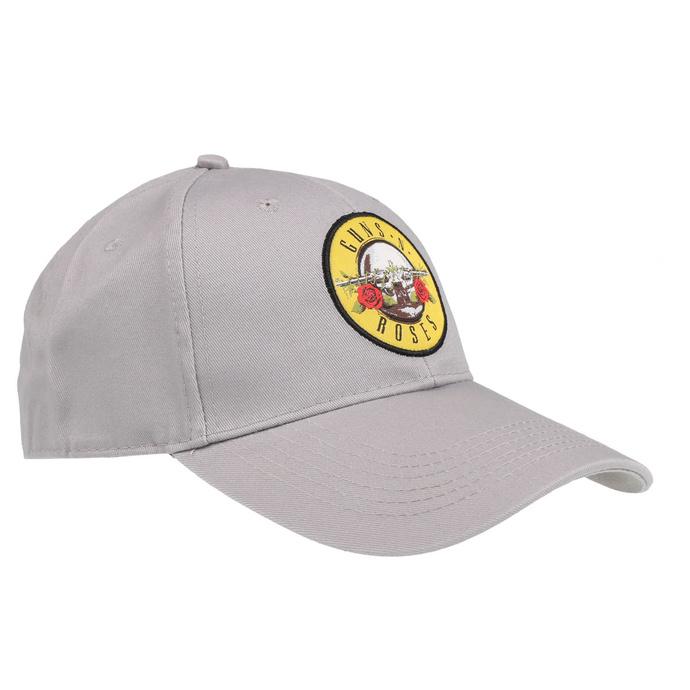 kšiltovka Guns N' Roses - Circle Logo - GREY - ROCK OFF