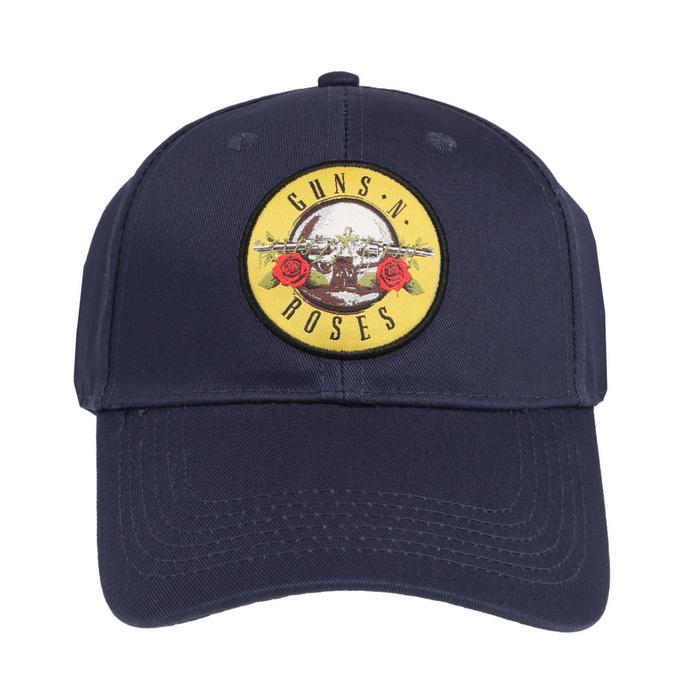 kšiltovka Guns N' Roses - Circle Logo - NAVY - ROCK OFF