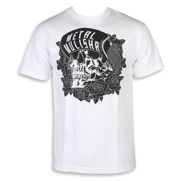 tričko pánské METAL MULISHA - BLACK ROSE - WHT-X, METAL MULISHA