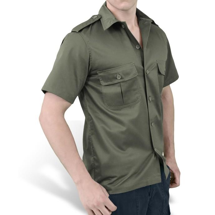 košile SURPLUS - US Hemd 1/2 - OLIV