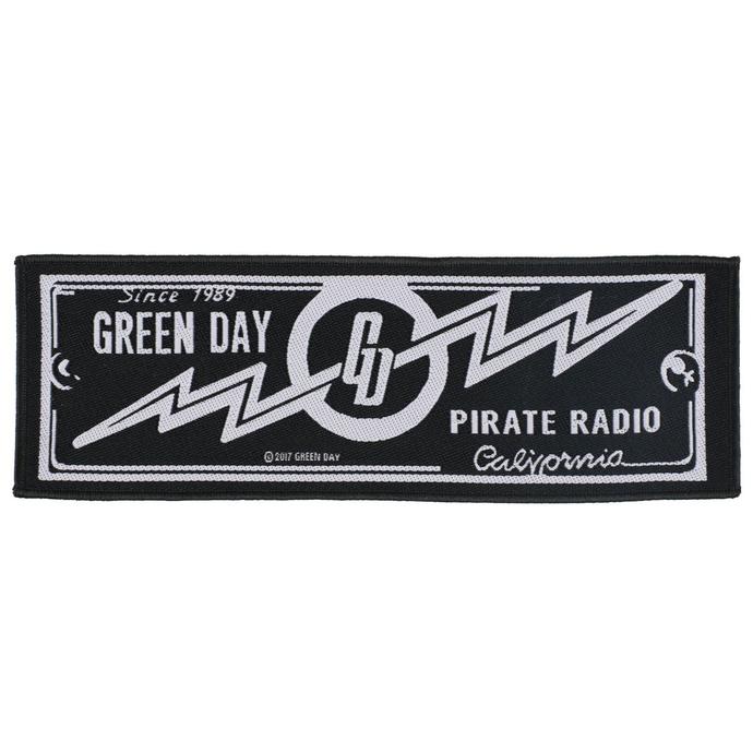 nášivka Green Day - Pirate Radio - RAZAMATAZ