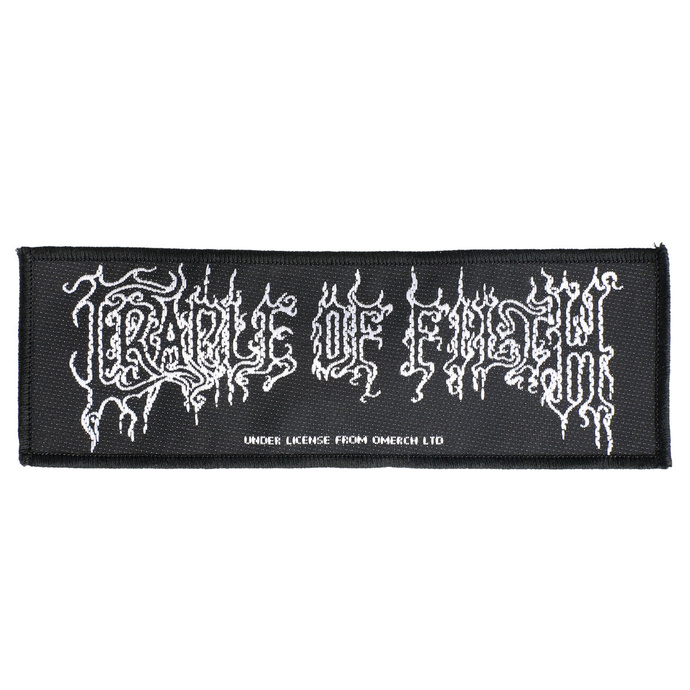nášivka Cradle Of Filth - Logo - RAZAMATAZ