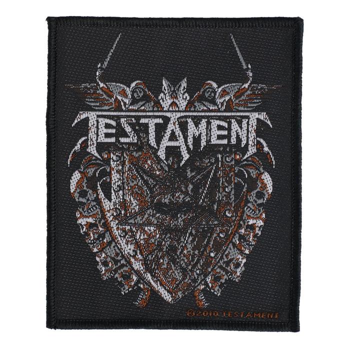 nášivka Testament - Shield - RAZAMATAZ