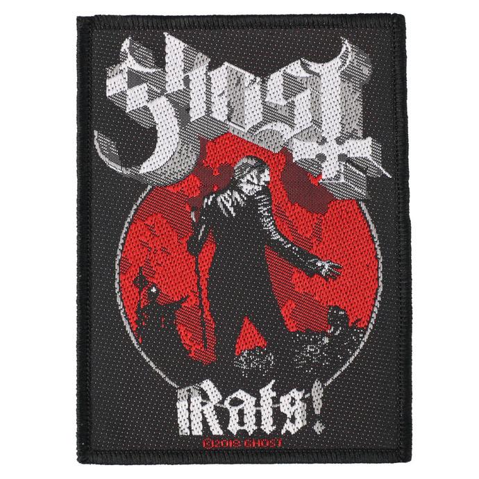 nášivka Ghost - Rats - RAZAMATAZ