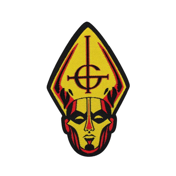 nášivka Ghost - Papa Head - RAZAMATAZ
