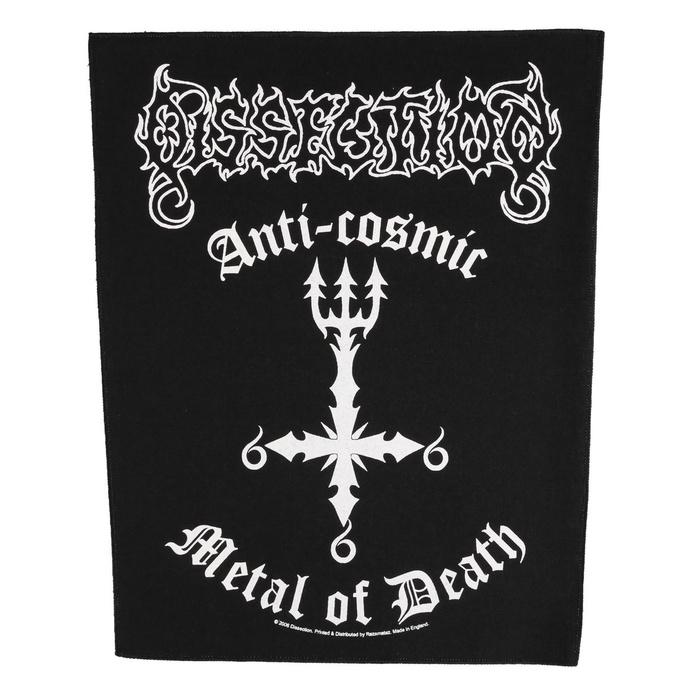 nášivka velká Dissection - Anti Cosmic Metal Of Death - RAZAMATAZ