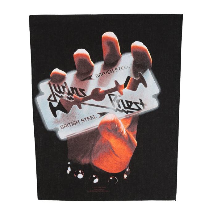 nášivka velká Judas Priest - British Steel - RAZAMATAZ
