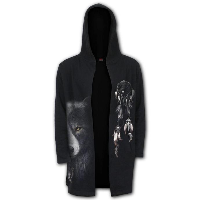 mikina pánská (cardigan) SPIRAL - WOLF CHI - Occult
