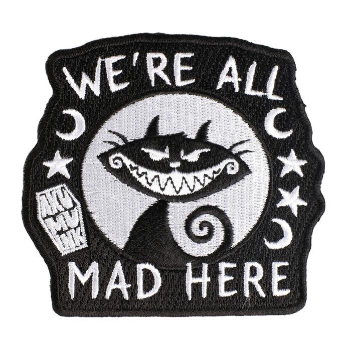 nažehlovačka ( nášivka) AKUMU INK - We're All Mad Here