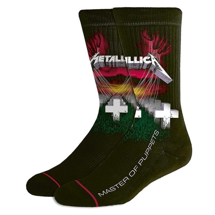 ponožky Metallica - MOP Black