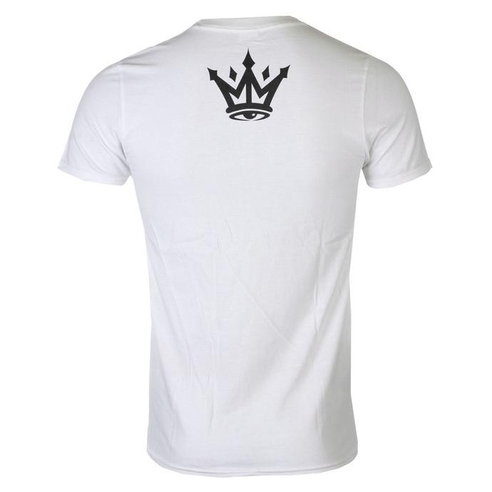 tričko pánské MAFIOSO - MAFIOSO PATCH - WHT